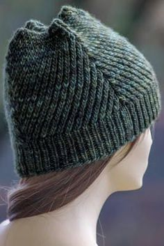Four Winds Hat | Can you master the twisted stitch featured in this knit hat pattern?