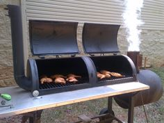 home built smokers out of propane tanks - Google Search