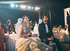 A tailor-made black tuxedo with a pale gold by Kachins Dubai fro Groom Anil's reception