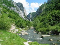 Turda Gorges (Cheile Turzii) is a natural reserve (on Hășdate River) situated 6 km west of Turda and about 15 km south-east of Cluj-Napoca, in Transylvania, Romania.