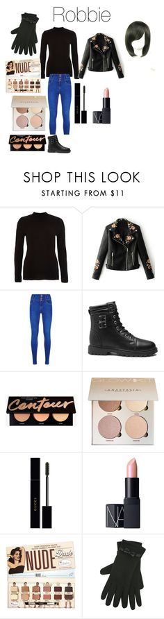 """""""Robbie V from Disney's Gravity Falls"""" by tori-camilleri on Polyvore featuring River Island, WithChic, Gucci, NARS Cosmetics and M&Co"""