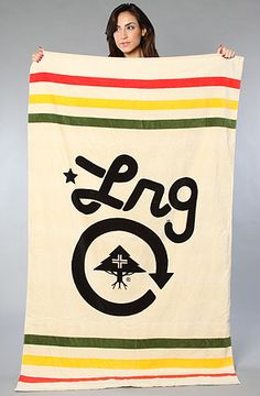 $45 @Anthony Vargas Preza LRG Core Collection Towel on Karmaloop - Perfect for the BEACH! (Use code SMARTCANUCKS for an additional 20%OFF at the checkout on karmaloop.com)