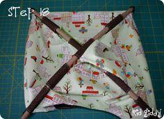 Mini-Tent Pattern + Tutorial « Sew,Mama,Sew! Blog