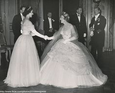 princess margaret  and princess diana | Flickriver: Searching for photos matching 'princess diana evening gown ...