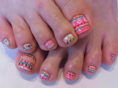 cute Easter nails!
