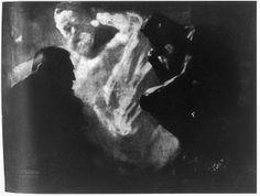 Rodin y el pensador, 1905 foto de Edward Steichen