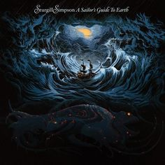 """STURGILL SIMPSON """"A Sailor's Guide To Earth"""" (CD, 2016 Atlantic) New Release"""