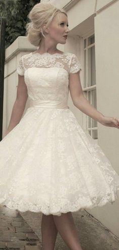 7d7f2e1c638 Wedding Party Dresses, Reception Dresses, Wedding Dresses Short Bride,  Vintage Style Wedding Dresses