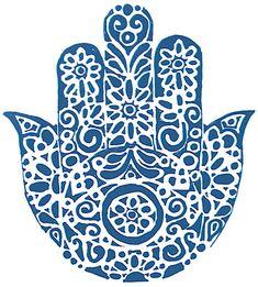 Hamsa by SaRichter on deviantART Silhouette Cameo Free, Tattoo Muster, Yoga Tattoos, Henna Tattoos, Hamsa Art, Hamsa Design, Elephant Silhouette, Cute Clipart, Jewish Art