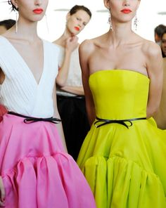 Love the sorbet colors.