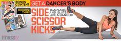 Karina Smirnoff: Side Scissor Kicks