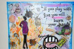 My Art Journal - For Journal 52 - 2015 Week 3: Conversation Starters.
