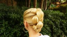 Hairs Affairs - BUBBLE PULL THROUGH BRAID - BRAIDING MADE EASY