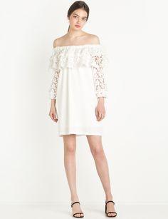 113be5d68d9b  lace dress  wedding  fashion  pixiemarket White Now