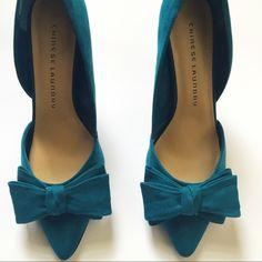 """Chinese Laundry Suede Heels NWOT. Suede heels by Chinese Laundry. Heel size: 4"""". Chinese Laundry Shoes Heels"""