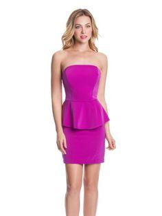 Strapless Dress #sasssjane #mode2dayslook #StraplessDress www.2dayslook.com