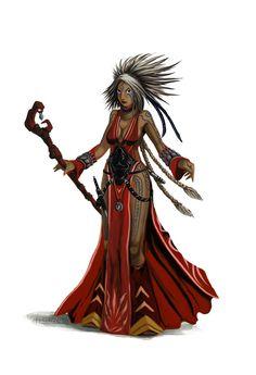 Pathfinder - Seoni The Sorcerer study by FilKearney on DeviantArt