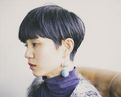 ファッションアイコンを連想させるスタイル - SHORT - HAIRCATALOG.JP/ヘアカタログ.JP