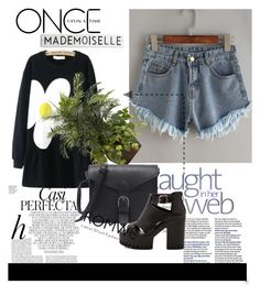 """""""ROMWE"""" by fashion-all-around ❤ liked on Polyvore featuring Whiteley, Once Upon a Time and Nearly Natural"""