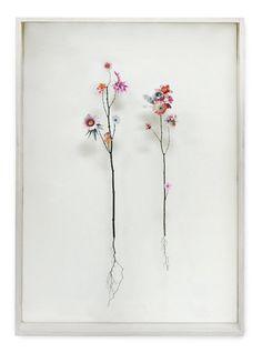 Flower Constructions by Anne Ten Donkelaar • via Free People blog