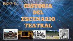 LA BREVE HISTORIA DEL ESCENARIO TEATRAL
