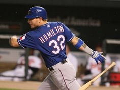 How Josh Hamilton went from can't miss Tampa Bay Devil Rays prospect to recovered junkie to the best player in Major League Baseball with the Texas Rangers. Rangers Baseball, Texas Rangers, Baseball Players, Hockey, Hamilton Pictures, Gary Sanchez, Mlb The Show, Christian Yelich, Sports Marketing