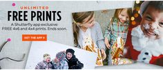 Shutterfly App: Download Now for (almost) Unlimited Photo Prints!