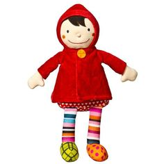 Geared for Imagination Crazy Cuddy Wolf - Little Red Riding Hood Doll | Wayfair