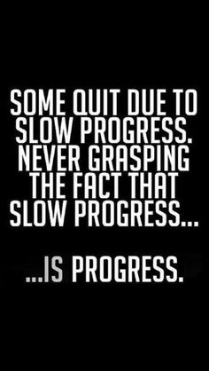 Some quit due to slow progress, never grasping the fact that slow progress... is progress!  Come to Body Morph Gym in Ferndale, MI for all of your fitness needs!  Call (248) 544-4646 TODAY to schedule an appointment or visit our website www.bodymorph.net for more information!