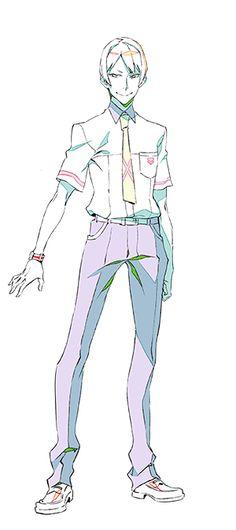 Kiznaiver | Tsuguhito Yuta  | Character Design | Anime | SailorMeowMeow