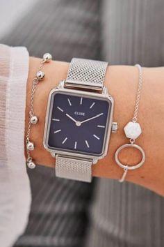 De CLUSE La Tétragone is een uniek vierkant horloge met 28,5 mm kast.   #cluse #clusewatch #clusehorloge #dameshorloge #horlogedames #juwelierbosmans #aalst #fashion #uurwerk #horloge #vierkant #vierkanthorloge #afgerond #dames #accessoires #juwelen #elegant #minimalistisch #stijlvol #eenvoud #minimalisme #eigentijds #stoer #statement #vrouwelijk #blikvanger #look #uitstraling #horlogeband #afneembaar #verwisselbaar #kwaliteit Hexagon Sunglasses, Round Sunglasses, Over Knee Socks, Yoga Headband, Western Hats, Visor Hats, Cat Eye Glasses, Marine Blue, Classic Leather