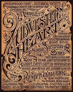 Amazing Vintage type #typography