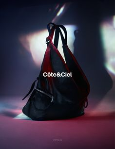 Côte&Ciel Spring Summer 2015 Campaign featuring the Ganges S Alias Leather.  Art Direction by Nicolás Santos. Photography by Benjamin Lennox.  www.coteetciel.com