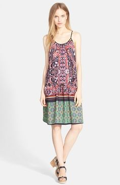 Clover Canyon 'Native Paisley' Drop Waist Dress available at #Nordstrom