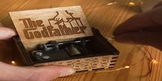 Do you love The Godfather? People are going crazy about this Handmade Godfather Theme Song Music Box! Claim yours now, there's only a few left in stock! Music Video Song, Music Videos, Playlist Music, Music Box Ballerina, Videos Anime, Wooden Music Box, Kalimba, Video Artist, Videos Tumblr