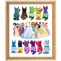 """""""Disney Princes Costumes for Running"""" by according2kelly on Polyvore"""