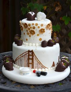 beautiful cake with SF theme