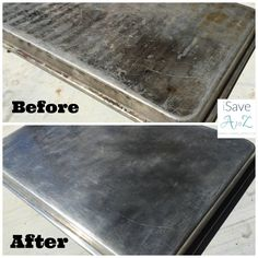 Baking Soda and Vinegar Uses I have so many Baking Soda and Vinegar Uses but today I want to share with you the reaction it had on a pan that I thought was doomed! My husband. My wonderful husband. He put my favorite baking sheet on the grill and forgot about it. My favorite pan!!Continue Reading...