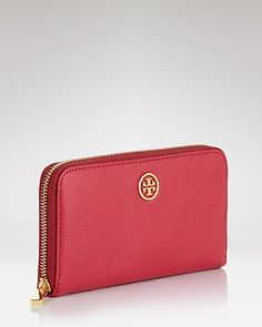 Tory Burch Wallet - Robinson Zip Continental | Bloomingdale's