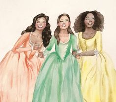 #HamiltonCHI Schuyler Sisters