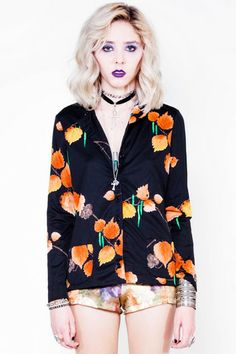 Autumnal Witch Top - M