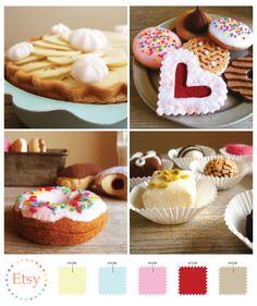 Felt Cakes On Etsy cakepins.com