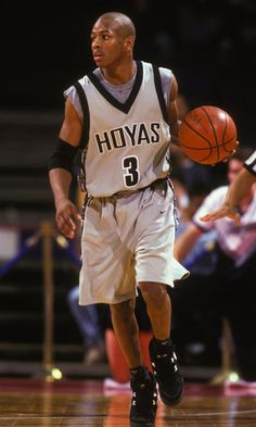 Allen Iverson / Georgetown won the Big East Rookie of the Year Award and was named to the all Rookie Tournament first team that season.