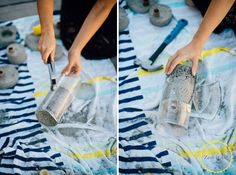 Make Chic Concrete Candle Holders