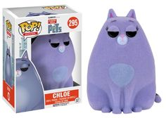 Secret Life Of Pets Chloe Ltd Ed. Flocked Pop! Vinyl Figure