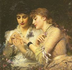 A Thorn Amidst the Roses, James Sant