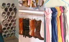 18 trucos que necesitas saber para organizar y ordenar tu armario rápidamente
