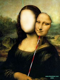 ghost in the machine - The Monalisa Project by Surrealistas for the...
