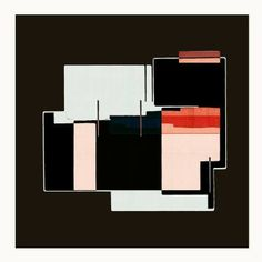 "Saatchi Art Artist jesús perea; Printmaking, ""ABSTRACT COMPOSITION 251, limited edition 1 of 20"" #art"