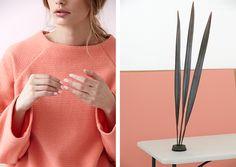 Coral sweater #fashion #pastel #spring // April